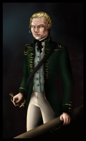 Captain William Laurence, by Shyangell