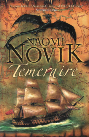 The front cover of the U.K. version by Dominic Harman.