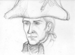 A sketch of Will Laurence. (c) Anke Eissmann
